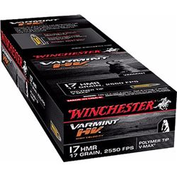 Winchester 17HMR 17GR V-Max - 500 Rounds