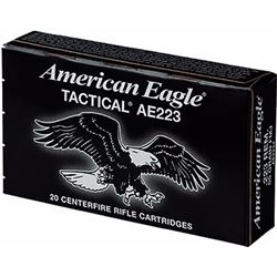 Federal AE 223Rem/5.56 NATO 55GR - 500 Rounds