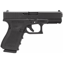 "Glock PG2350203 G23 Gen 4 Double 40 Smith & Wesson (S& W) 4.01"" 13+1 Black Interchangeable Backstrap"