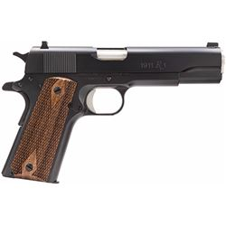 "Remington Firearms 96323 1911 R1 Single 45 Automatic Colt Pistol (ACP) 5"" 7+1 Walnut Grip Black"