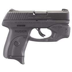"Ruger 3279 LC9s Standard with LaserMax GripSense Double 9mm Luger 3.12"" 7+1 Black Grip Blued Steel"