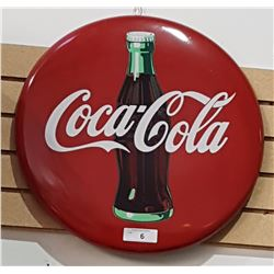 COCA-COLA METAL BUTTON DATED 1992