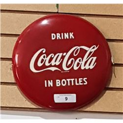COCA-COLA METAL BUTTON 1950'S