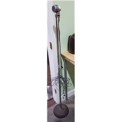 VINTAGE AMPERITE MICROPHONE ON STAND