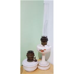 TWO ALADDIN OIL LAMPS