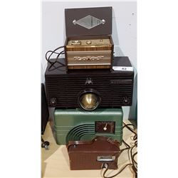 GROUP OF 4 RADIOS