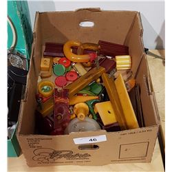 LARGE LOT OF BAKELITE & CATALIN