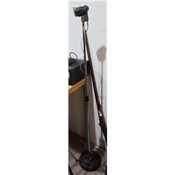 VINTAGE MICROPHONE ON STAND