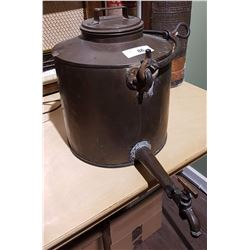 LARGE COPPER POT W/SPIGOT
