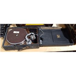 PORTABLE RCA RECORD PLAYER