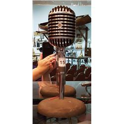 VINTAGE TABLE TOP MICROPHONE