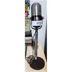 AIWA MICROPHONE ON STAND