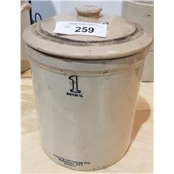 MEDALTA POTTERIES 1 IMPERIAL GALLON CROCK