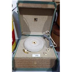 VICTROLA PORTABLE RECORD PLAYER