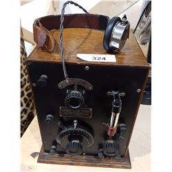 EARLY ANTIQUE TUBE TELEPHONE