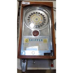 VINTAGE TABLE TOP NICKEL SLOT MACHINE