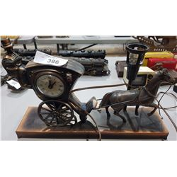 HORSE & CARRIAGE LAMP