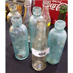 LOT OF 8 COLLECTIBLE BOTTLES