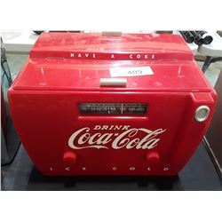 COCA COLA AM/FM COOLER RADIO
