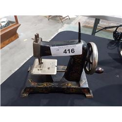 MADE IN GERMANY METAL TOY SEWING MACHINE