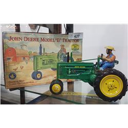 JOHN DEER MODEL B TRACTOR W/ ORIGINAL BOX
