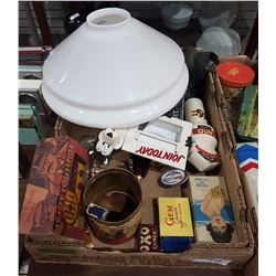 BOX LOT OF COLLECTIBLES