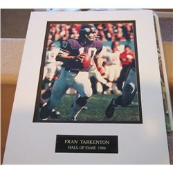 Fran Tarkenton Hall of Fame