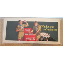 Coke Ad Card Stock OLD