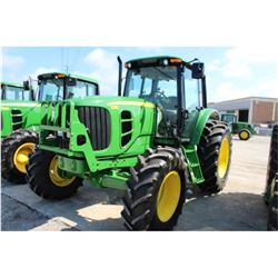 2012 JOHN DEERE 7230 Farm Tractor, VIN/SN:1L07230BHCB713069 - MFWD, 6 cylinder diesel, 3 PTH, PTO, t