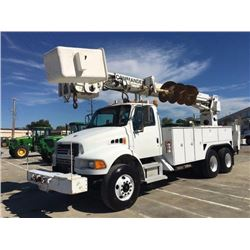 2003 STERLING M8500 Bucket/Auger Truck, VIN/SN:2FZHCHAK23AL68703 - T/A, 246 HP Cat 3126 engine, Alli