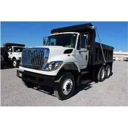 2011 INTERNATIONAL 7400 WorkStar Dump Truck, VIN/SN:1HTWHAAR0BJ336981 - T/A, 7.6L 300 HP Int. Maxxfo
