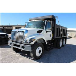 2010 INTERNATIONAL 7400 WorkStar Dump Truck, VIN/SN:1HTWHAAR3AJ215814 - T/A, 7.6L 300 HP Int. Maxxfo