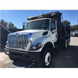 2010 INTERNATIONAL 7400 WorkStar Dump Truck, VIN/SN:1HTWHAAR8AJ245066 - T/A, 7.6L 300 HP Int. Maxxfo