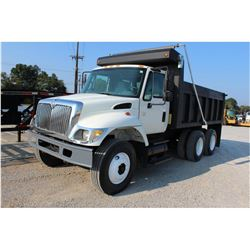 2006 INTERNATIONAL 7400 Dump Truck, VIN/SN:1HTWHAAR96J347032 - T/A, 7.6L 260 HP Int. DT466 engine, A