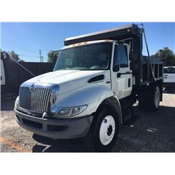 2013 INTERNATIONAL 4300 DuraStar Dump Truck, VIN/SN:3HAMMAAR4DL191239 - S/A, 7.6L 260 HP Int. Maxxfo