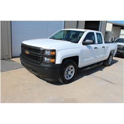 2015 CHEVROLET 1500 Pickup Truck, VIN/SN:1GCRCPEC3FZ207089 - ext. cab, V8 gas, A/T, AC, 58,939 odome