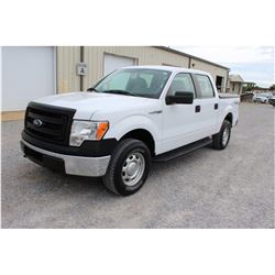 2014 FORD F150 Pickup Truck, VIN/SN:1FTFW1EF1EKD69523 - 4x4, crew cab, V8 gas, A/T, AC, bed cover, 5