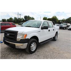 2014 FORD F150 Pickup Truck, VIN/SN:1FTFW1EF6EKE58374 - 4x4, crew cab, V8 gas, A/T, AC, bed cover, 5
