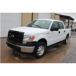 2014 FORD F150 Pickup Truck, VIN/SN:1FTFW1EF0EKE58368 - 4x4, crew cab, V8 gas, A/T, AC, 78,614 odome