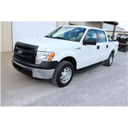 2014 FORD F150 Pickup Truck, VIN/SN:1FTEW1CM1EFB62944 - crew cab, V6 gas, A/T, AC, 61,950 odometer r