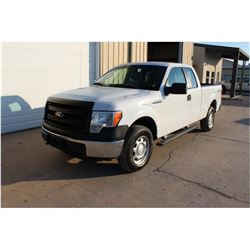 2014 FORD F150 Pickup Truck, VIN/SN:1FTFX1EF1EKD94502 - 4x4, ext. cab, V8 gas, A/T, AC, 48,631 odome