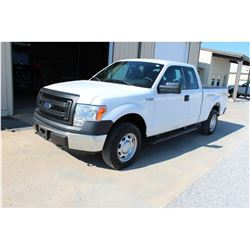 2014 FORD F150 Pickup Truck, VIN/SN:1FTEX1EM7EFA94904 - 4x4, ext. cab, V6 gas, A/T, AC, 57,445 odome