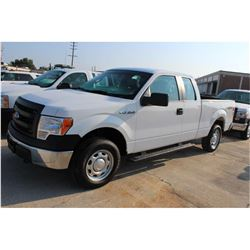 2014 FORD F150 Pickup Truck, VIN/SN:1FTFX1EFXEKD94515 - 4x4, ext. cab, V8 gas, A/T, AC, 58,221 odome