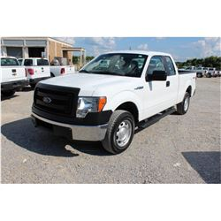 2014 FORD F150 Pickup Truck, VIN/SN:1FTFX1EF8EKD94514 - 4x4, ext. cab, V8 gas, A/T, AC, 74,656 odome
