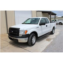 2014 FORD F150 Pickup Truck, VIN/SN:1FTEX1CM2EFB18271 - ext. cab, V6 gas, A/T, AC, 46,161 odometer r