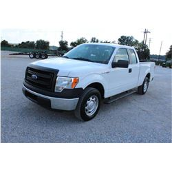 2014 FORD F150 Pickup Truck, VIN/SN:1FTEX1CM4EFB18272 - ext. cab, V6 gas, A/T, AC, 46,578 odometer r