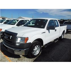 2014 FORD F150 Pickup Truck, VIN/SN:1FTEX1CM1EFA85330 - ext. cab, V6 gas, A/T, AC, 47,831 odometer r