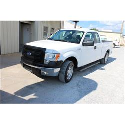 2014 FORD F150 Pickup Truck, VIN/SN:1FTEX1CM7EFB18296 - ext. cab, V6 gas, A/T, AC, 48,531 odometer r