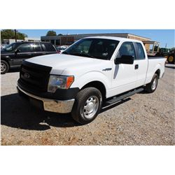 2014 FORD F150 Pickup Truck, VIN/SN:1FTEX1CM7EFA85316 - ext. cab, V6 gas, A/T, AC, 48,875 odometer r