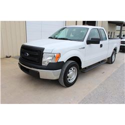 2014 FORD F150 Pickup Truck, VIN/SN:1FTEX1CM0EFB18270 - ext. cab, V6 gas, A/T, AC, 51,784 odometer r